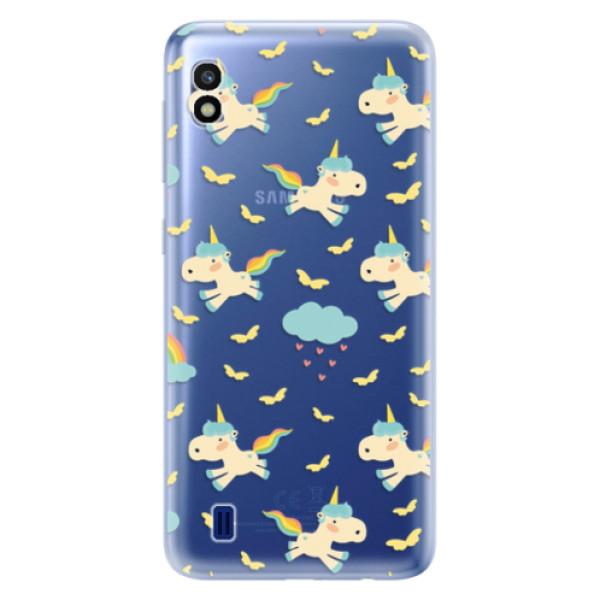 Odolné silikonové pouzdro iSaprio - Unicorn pattern 01 - Samsung Galaxy A10