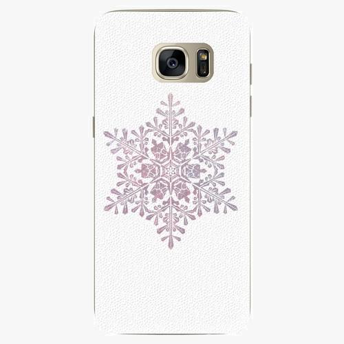 Plastový kryt iSaprio - Snow Flake - Samsung Galaxy S7