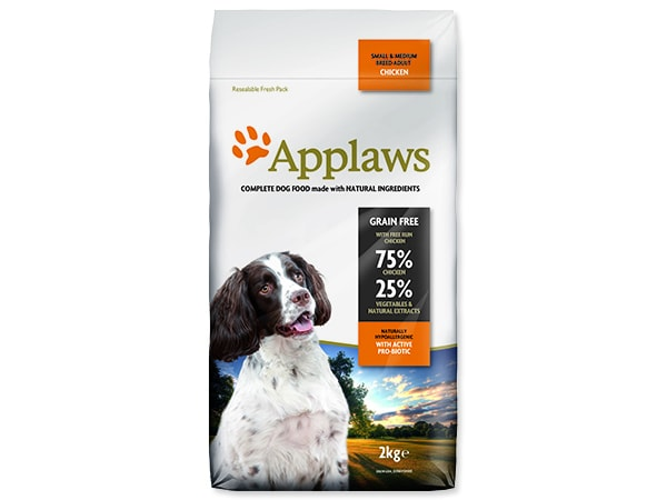 APPLAWS Dry Dog Chicken Small & Medium Breed Adult 2kg