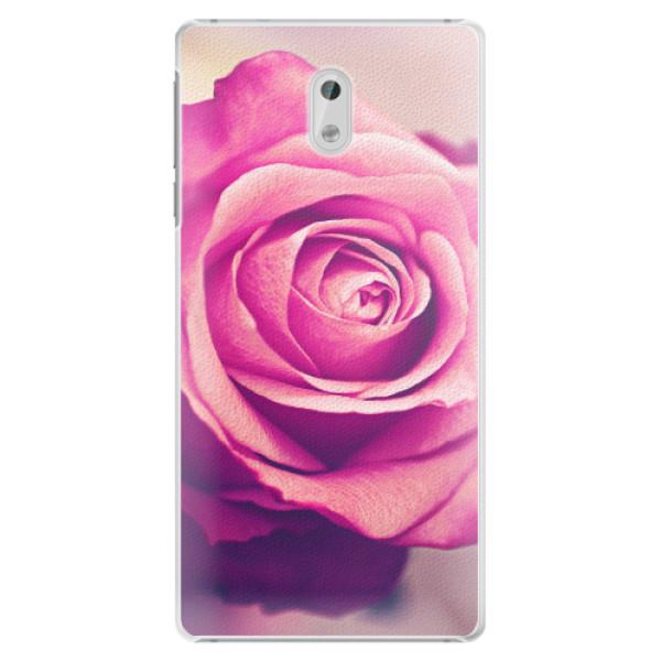 Plastové pouzdro iSaprio - Pink Rose - Nokia 3