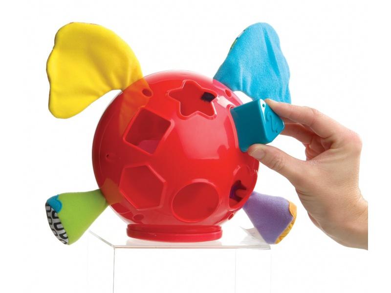 Playgro - Vkládací slon s tvary