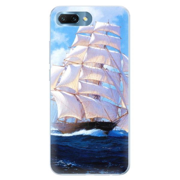 Silikonové pouzdro iSaprio - Sailing Boat - Huawei Honor 10
