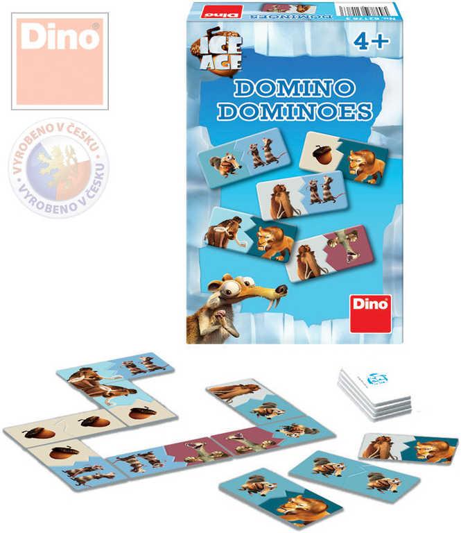 DINO Hra Domino Doba ledová (Ice Age)