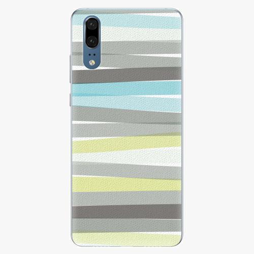 Silikonové pouzdro iSaprio - Stripes - Huawei P20