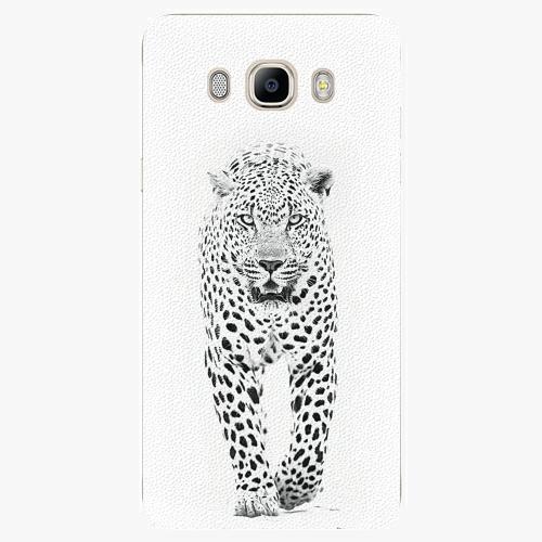 Plastový kryt iSaprio - White Jaguar - Samsung Galaxy J7 2016