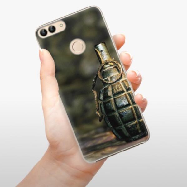 Plastové pouzdro iSaprio - Grenade - Huawei P Smart