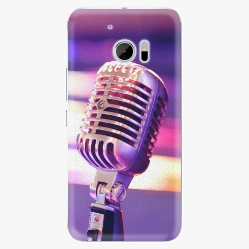 Plastový kryt iSaprio - Vintage Microphone - HTC 10