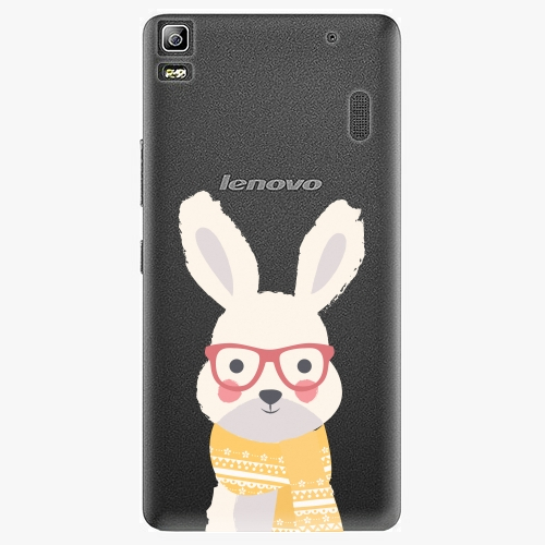 Plastový kryt iSaprio - Smart Rabbit - Lenovo A7000