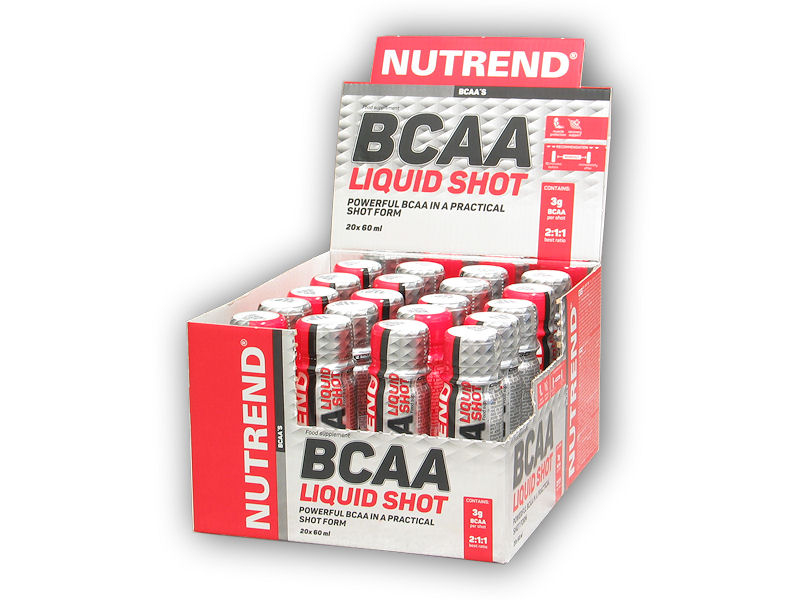 BCAA Liquid Shot 2:1:1 20x60ml akce