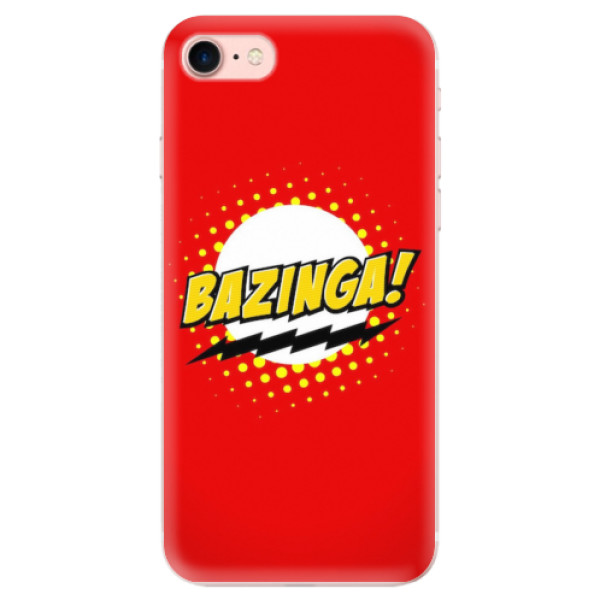 Odolné silikonové pouzdro iSaprio - Bazinga 01 - iPhone 7