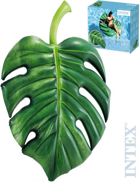 INTEX Lehátko nafukovací Palmový list 213x142cm matrace na vodu 58782