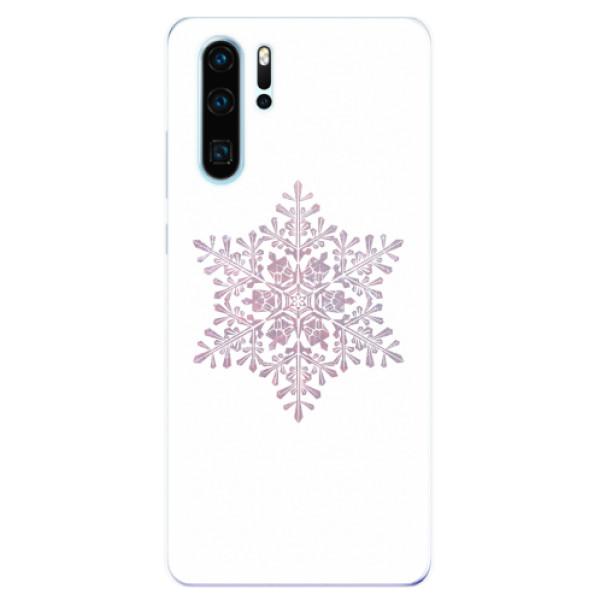 Odolné silikonové pouzdro iSaprio - Snow Flake - Huawei P30 Pro