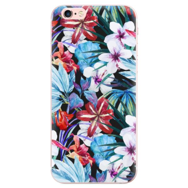 Odolné silikonové pouzdro iSaprio - Tropical Flowers 05 - iPhone 6 Plus/6S Plus