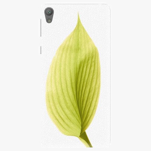 Plastový kryt iSaprio - Green Leaf - Sony Xperia E5