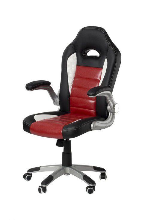 Kancelářská židle Colorado - červená, černá