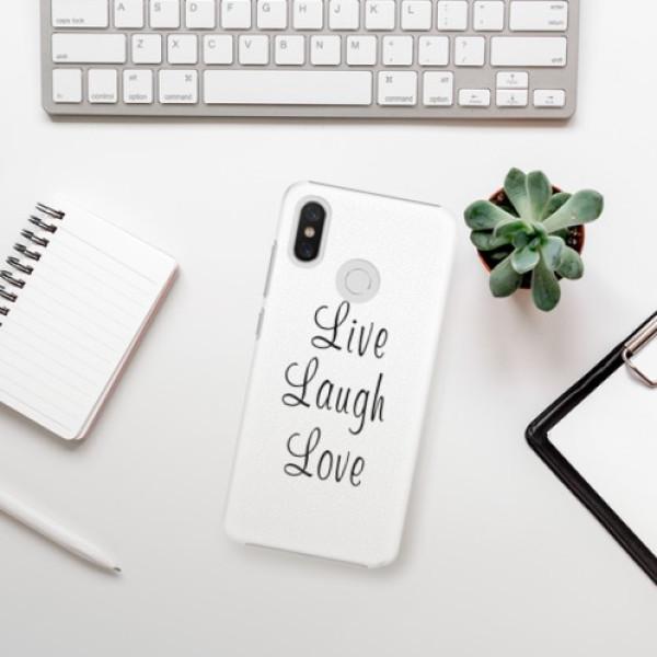 Plastové pouzdro iSaprio - Live Laugh Love - Xiaomi Mi 8
