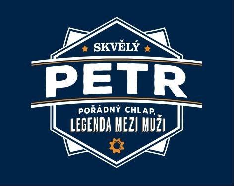 Plechové hrnky - Plecháček - Petr