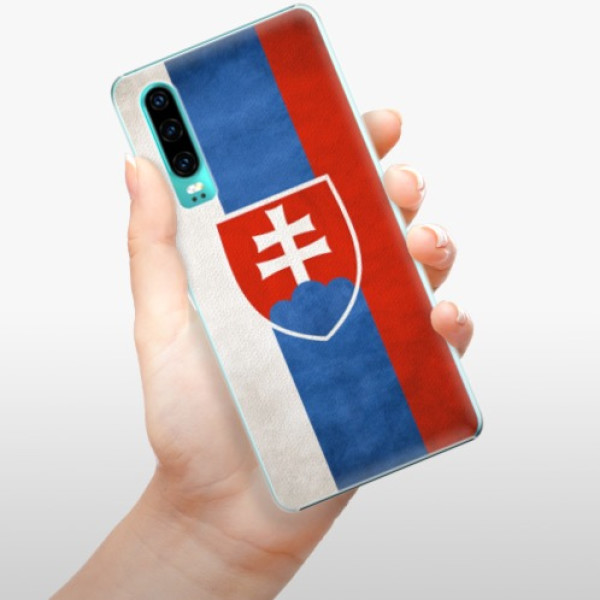 Plastové pouzdro iSaprio - Slovakia Flag - Huawei P30