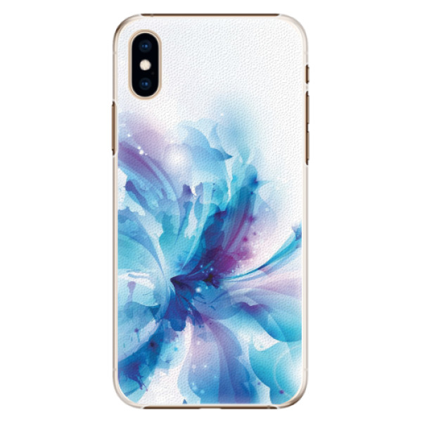 Plastové pouzdro iSaprio - Abstract Flower - iPhone XS