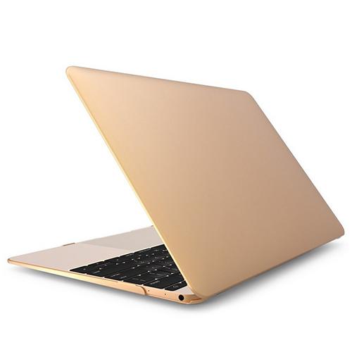Polykarbonátové pouzdro / kryt iSaprio pro MacBook Retina 12 zlatý