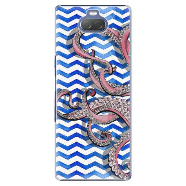 Plastové pouzdro iSaprio - Octopus - Sony Xperia 10 Plus