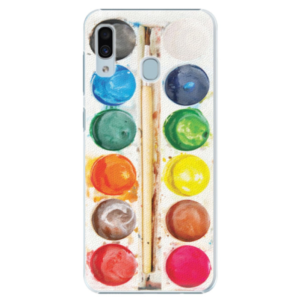 Plastové pouzdro iSaprio - Watercolors - Samsung Galaxy A20