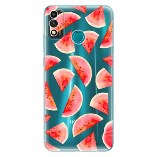 Odolné silikonové pouzdro iSaprio - Melon Pattern 02 - Honor 9X Lite