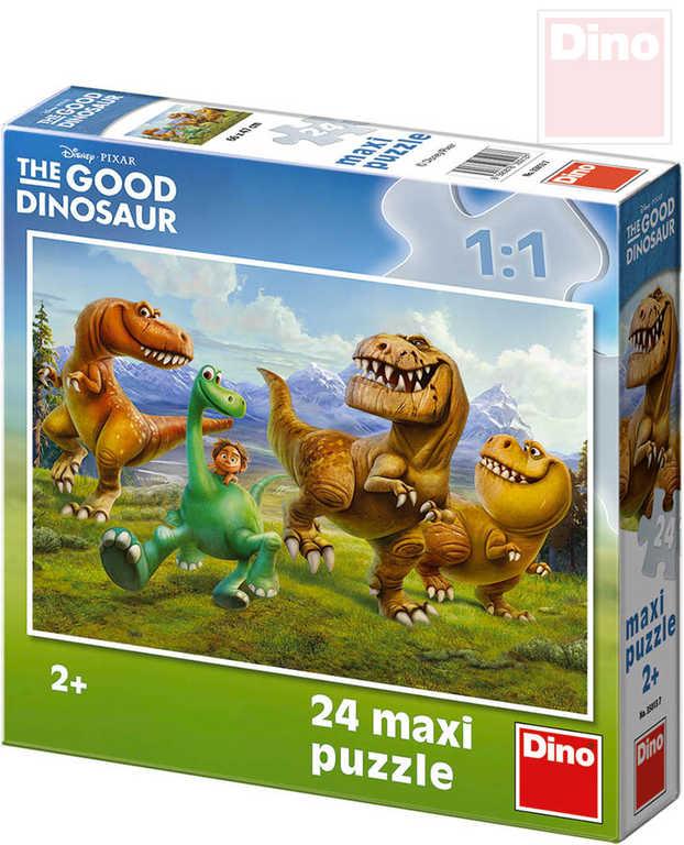 DINO Baby Puzzle 24 dílků Hodný dinosaurus maxi 66x47cm skládačka velké dílky