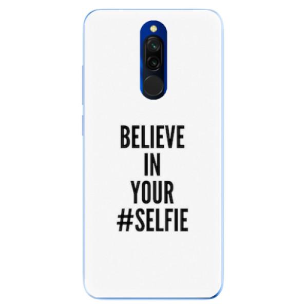 Odolné silikonové pouzdro iSaprio - Selfie - Xiaomi Redmi 8
