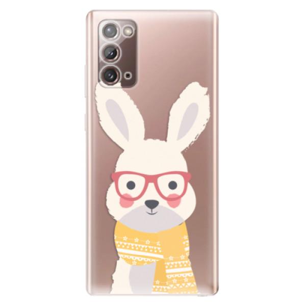 Odolné silikonové pouzdro iSaprio - Smart Rabbit - Samsung Galaxy Note 20