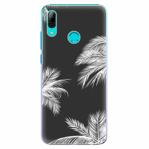 Plastový kryt iSaprio - White Palm - Huawei P Smart 2019