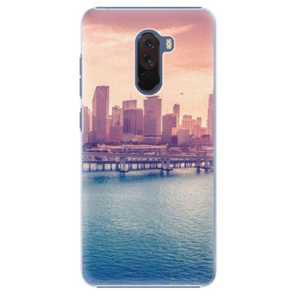 Plastové pouzdro iSaprio - Morning in a City - Xiaomi Pocophone F1