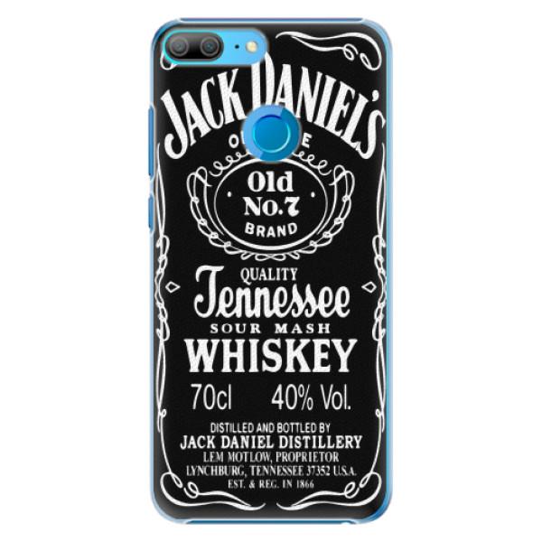 Plastové pouzdro iSaprio - Jack Daniels - Huawei Honor 9 Lite