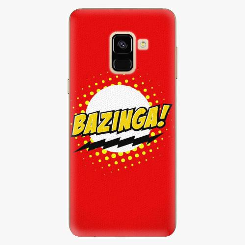 Plastový kryt iSaprio - Bazinga 01 - Samsung Galaxy A8 2018