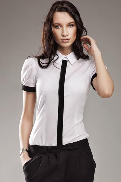 Košile s krátkým rukávem model 9239 Nife
