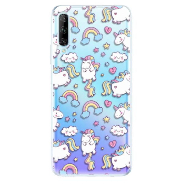 Odolné silikonové pouzdro iSaprio - Unicorn pattern 02 - Huawei P Smart Pro