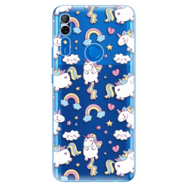 Odolné silikonové pouzdro iSaprio - Unicorn pattern 02 - Huawei P Smart Z