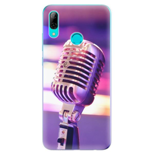 Odolné silikonové pouzdro iSaprio - Vintage Microphone - Huawei P Smart 2019