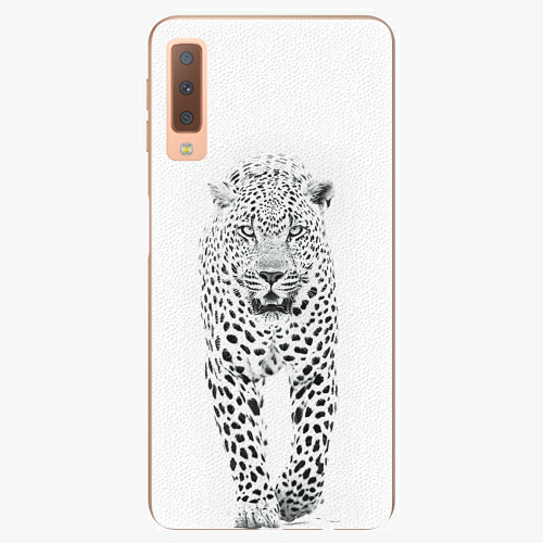 Plastový kryt iSaprio - White Jaguar - Samsung Galaxy A7 (2018)