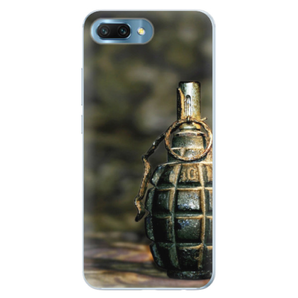 Silikonové pouzdro iSaprio - Grenade - Huawei Honor 10