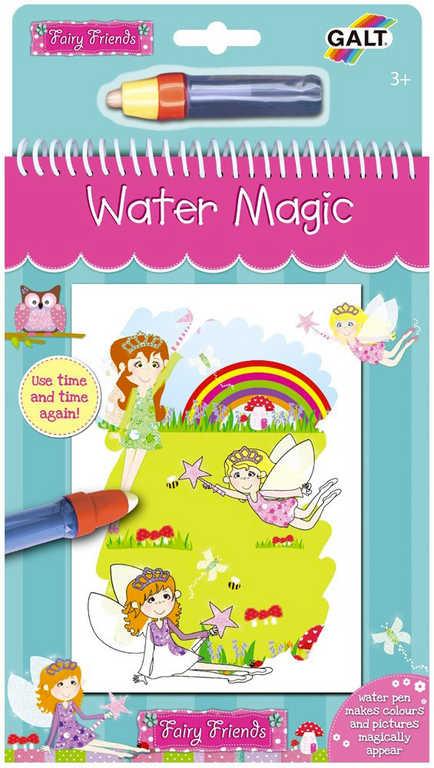 ADC Vílí přátelé vodní magie kouzelné obrázky 6ks set s vodním perem