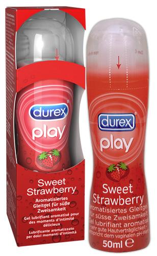 Lubrikační gel Durex Play Erdbeere