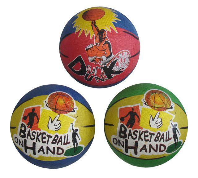 Basketbalový míč s potiskem vel. 5