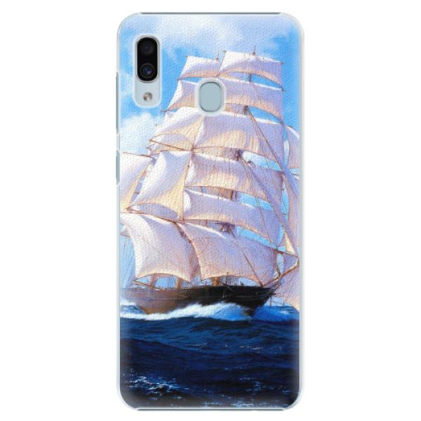 Plastové pouzdro iSaprio - Sailing Boat - Samsung Galaxy A30