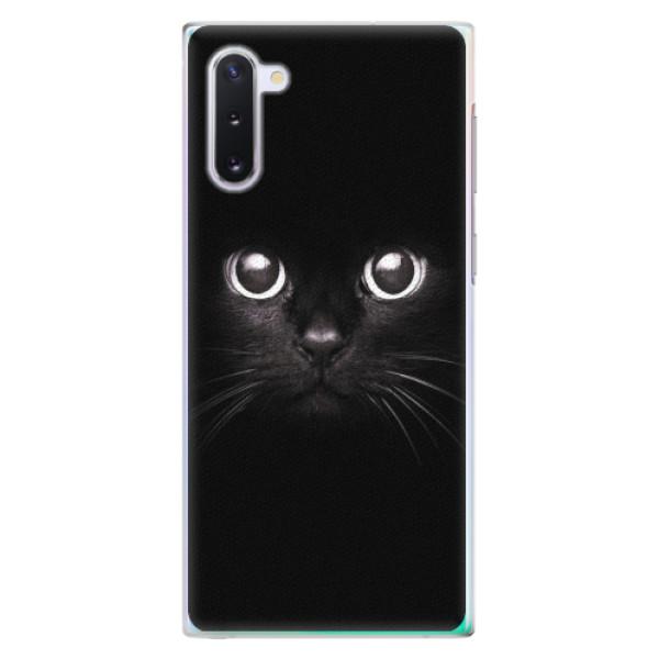 Plastové pouzdro iSaprio - Black Cat - Samsung Galaxy Note 10