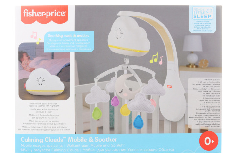 Fisher-price Kolotoč a usínáček Calming Clouds GRP99 TV
