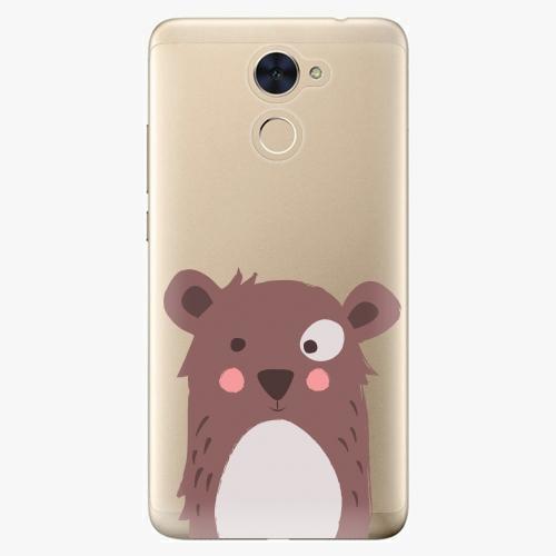 Plastový kryt iSaprio - Brown Bear - Huawei Y7 / Y7 Prime