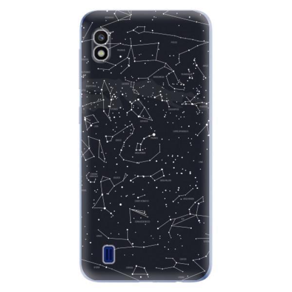 Odolné silikonové pouzdro iSaprio - Night Sky 01 - Samsung Galaxy A10