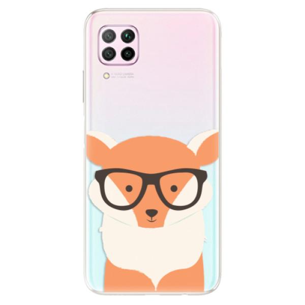 Odolné silikonové pouzdro iSaprio - Orange Fox - Huawei P40 Lite