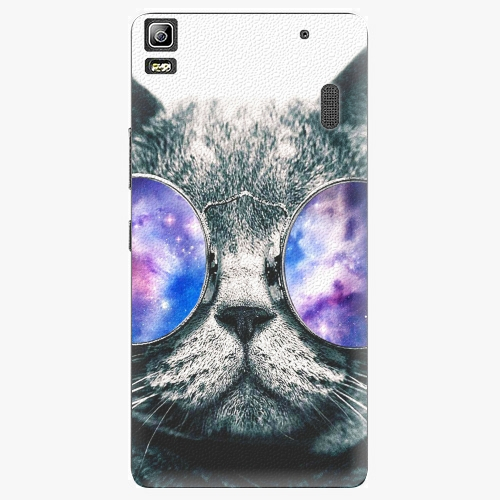 Plastový kryt iSaprio - Galaxy Cat - Lenovo A7000